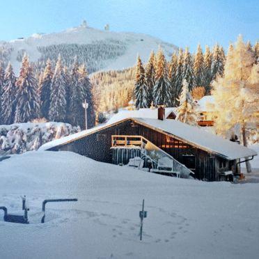 Innen Winter 21, Ferienhaus Paula, Bayerisch Eisenstein, Bayerischer Wald, Bayern, Deutschland