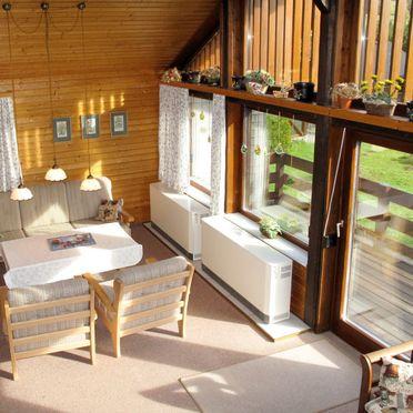 Innen Sommer 3, Hütte Rechbergblick im Schwarzwald, Bernau, Schwarzwald, Baden-Württemberg, Deutschland