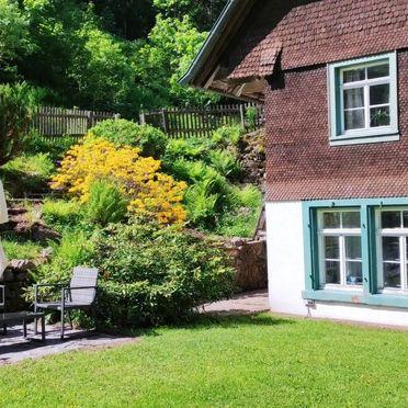 Außen Sommer 2, Schwarwaldhaus Sägemühle, Furtwangen, Schwarzwald, Baden-Württemberg, Deutschland