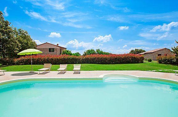 Außen Sommer 1 - Hauptbild, Casa Querce, Sassetta, Riviera degli Etruschi, Toskana, Italien
