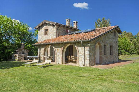 Außen Sommer 1 - Hauptbild, Casa le Fonte, Roccastrada, Maremma, Toskana, Italien