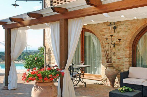 Außen Sommer 1 - Hauptbild, Casa la Vecchia Pieve, Castelfiorentino, Toskana Chianti, Toskana, Italien