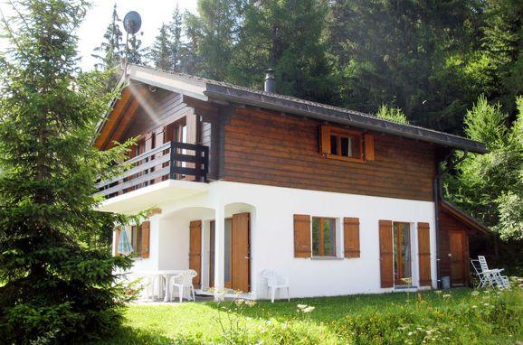 Außen Sommer 1 - Hauptbild, Chalet Edelweiss in La Tzoumaz, La Tzoumaz, Wallis, Wallis, Schweiz
