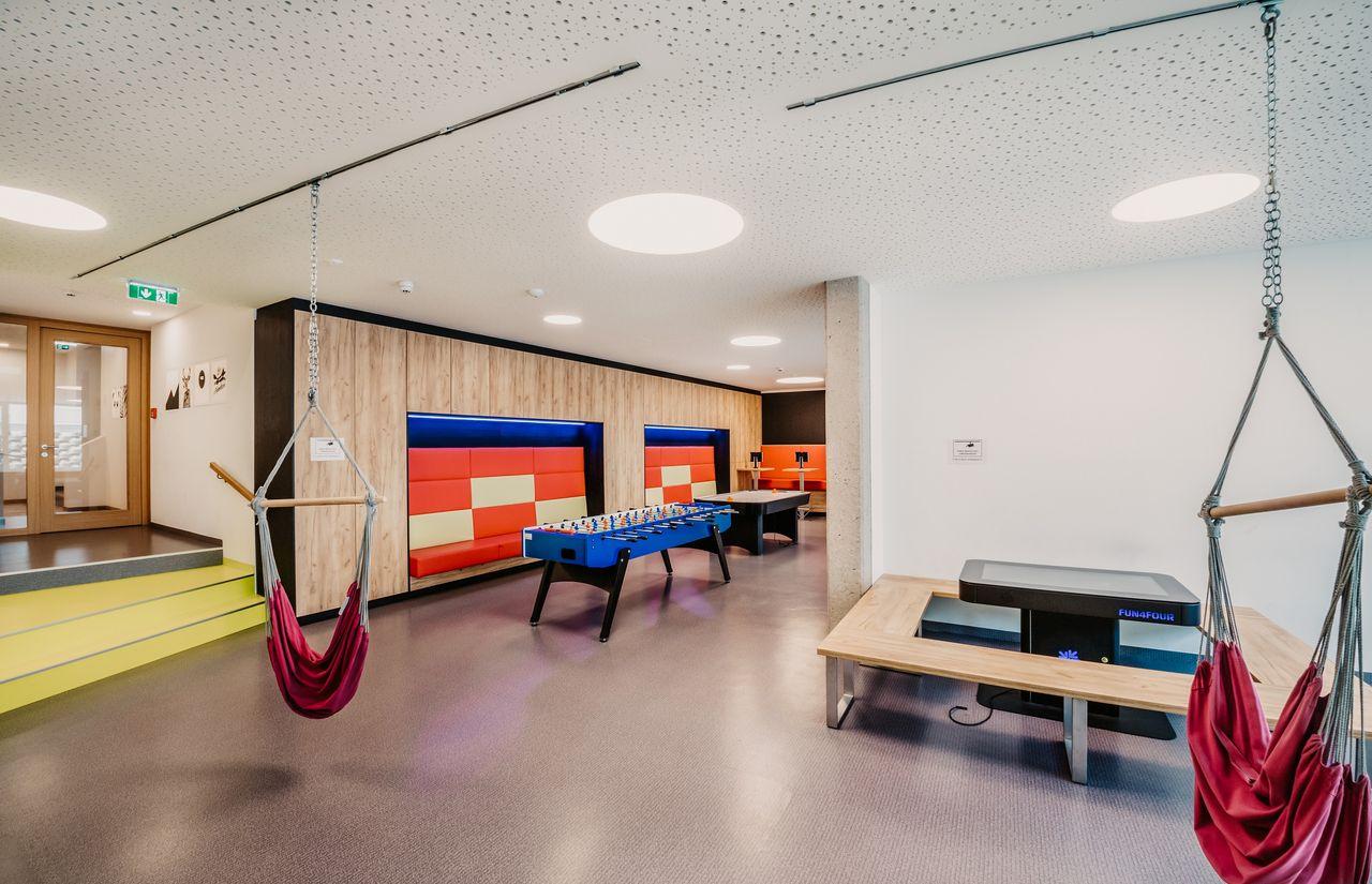 Indoor-Spielebereich