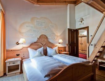 Multi-Bed Room Special – with 3 beds on mezzanine floor - Aqua Bad Cortina