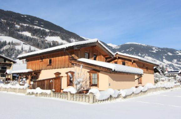 Außen Winter 45 - Hauptbild, Chalet Schwendau, Mayrhofen, Zillertal, Tirol, Österreich