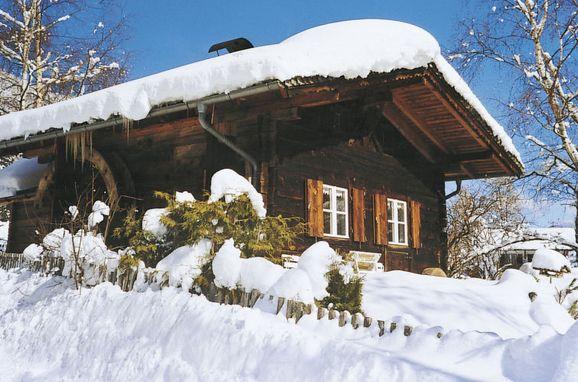 Außen Winter 14 - Hauptbild, Blockhütte Hüttl, Trins, Tirol, Tirol, Österreich