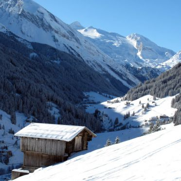 Innen Winter 35, Berghütte Häusl, Tux, Zillertal, Tirol, Österreich