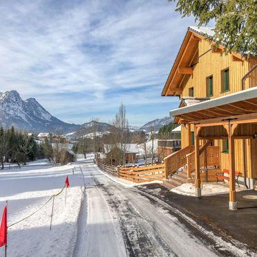Außen Winter 19, Chalet Sommersberg, Bad Aussee, Salzkammergut, Salzburg, Österreich