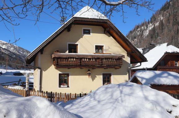 Außen Winter 22 - Hauptbild, Ferienhaus Gebhardt, Zederhaus, Lungau, Salzburg, Österreich