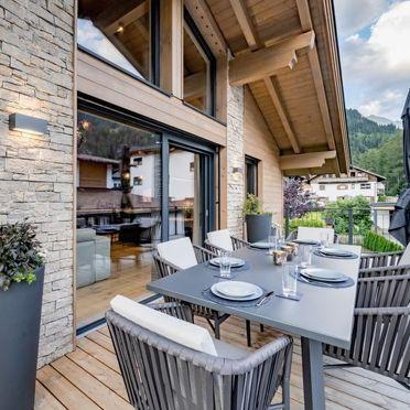 Außen Winter 45, Alpenchalet Tirol, Längenfeld, Ötztal, Tirol, Österreich
