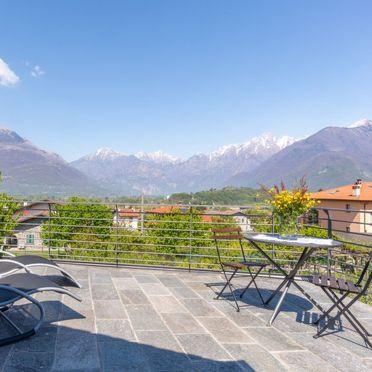 Außen Sommer 4, Rustico Baila, Colico, Comer See, Lombardei, Italien