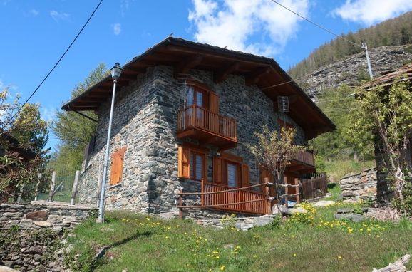 Außen Sommer 1 - Hauptbild, Rustico Baulin, Avise, Aostatal, Aostatal, Italien