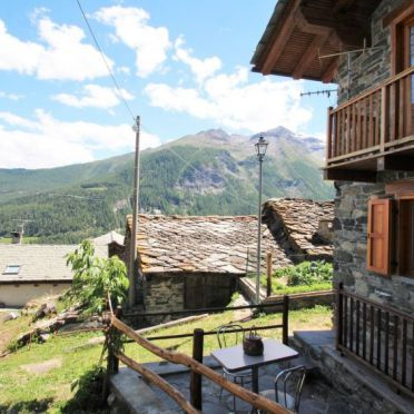 Außen Sommer 4, Rustico Baulin, Avise, Aostatal, Aostatal, Italien