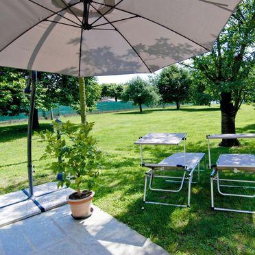 Außen Sommer 4, Rustico di Pipot, Orta San Giulio, Lago d'Orta, Piemont, Italien