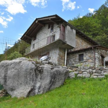 Außen Sommer 2 - Hauptbild, Rustico Rebustella, Valtellina, Lombardei, Lombardei, Italien