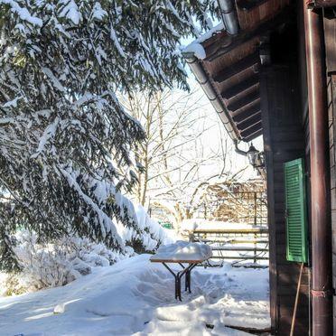 Außen Winter 35, Berghütte Menardi, Frankenburg am Hausruck, Oberösterreich, Oberösterreich, Österreich