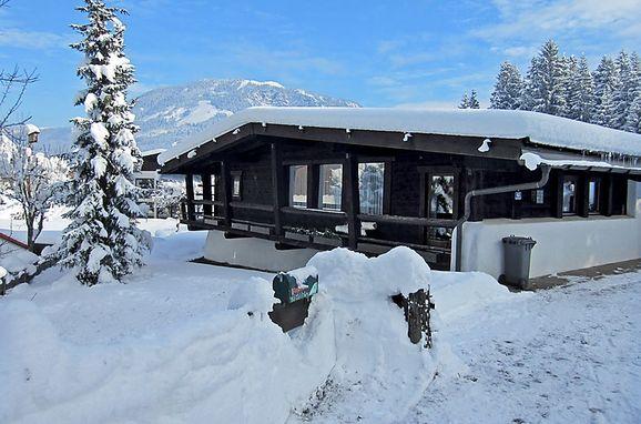 Außen Winter 12 - Hauptbild, Jagdhütte Lärchenbichl, Sankt Johann in Tirol, Tirol, Tirol, Österreich