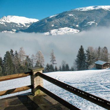 Außen Winter 27, Bauernhaus Luxner im Zillertal, Kaltenbach, Zillertal, Tirol, Österreich